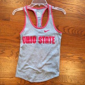 Nike Ohio State Racerback Tank Top